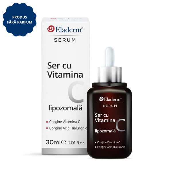 Ser cu Vitamina C si Acid Hialuronic 30ml
