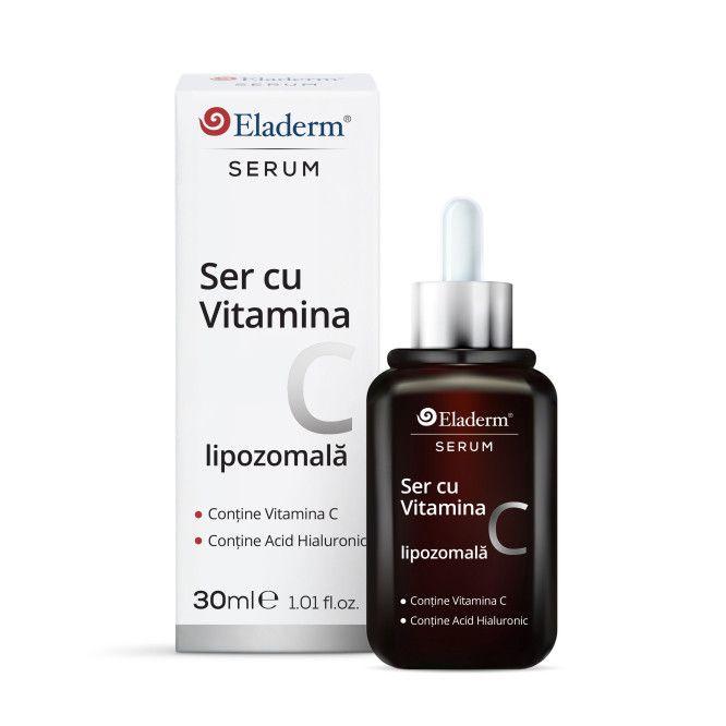 Ser cu Vitamina C si Acid Hialuronic 30ml