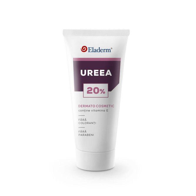 Ureea 20% - Cremă cu Uree, Vitamina A și E - 100 ML