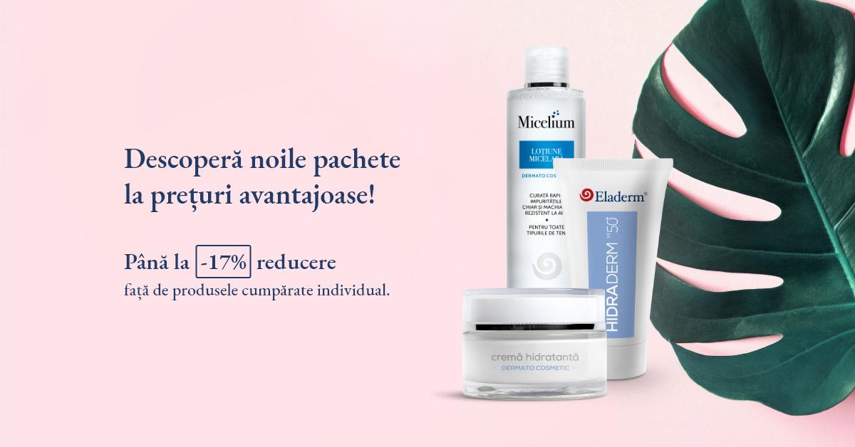 pachete dermatocosmetice Eladerm