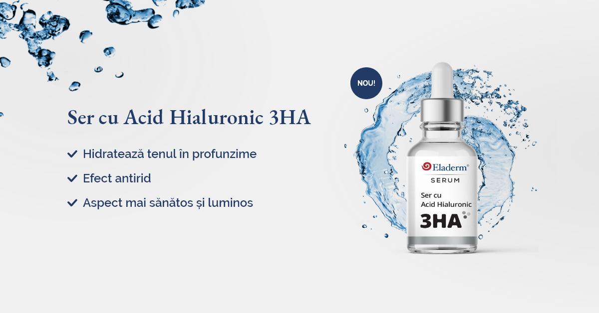 Ser cu Acid Hialuronic 3 molecule Eladerm